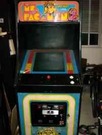 Ms Pacman Upright Arcade Machine